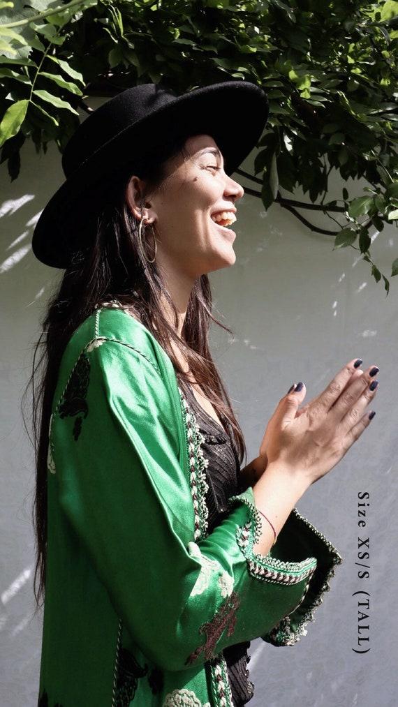 Vintage Indian Silk Robe