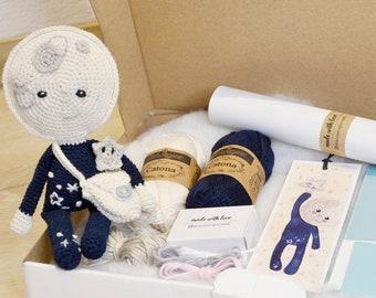 DIY Crochet Set / Moonchild Claus by mariamigurumii / Amigurumi