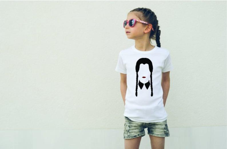 Wednesday Addams Girls T-shirt