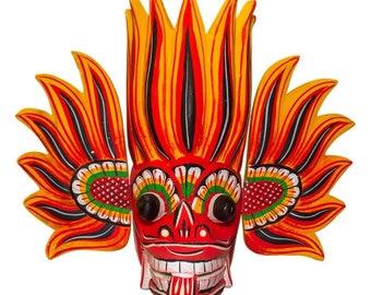 Sri Lankan traditional wooden Mask