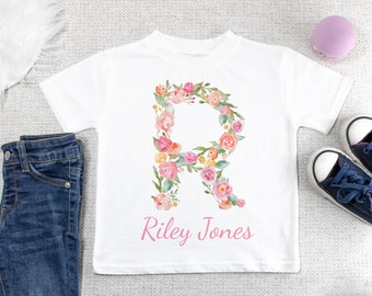 Custom Personalised Baby//Kids//Childrens T-SHIRT Name Funny Gift-Your text//logo 4