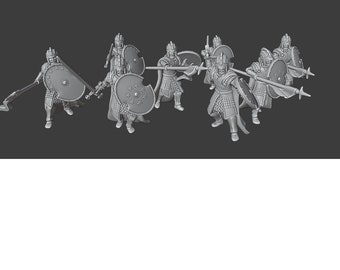 Infantry of Westernesse Legionaries| Men of the West | DnD Miniature | Warhammer | Middle-Earth | Age of Sigmar | Medbury | Wargaming