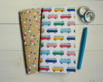 Travelers Notebook Inserts, Summer Notebook, Summer Journal, Bullet Journals, Stationary Set, Scrapbook Junk Journal, Gift For Friend Woman