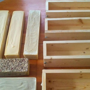 Minimax 15 reg 30 mini bars Wooden soap mold with Metal cutter NEW