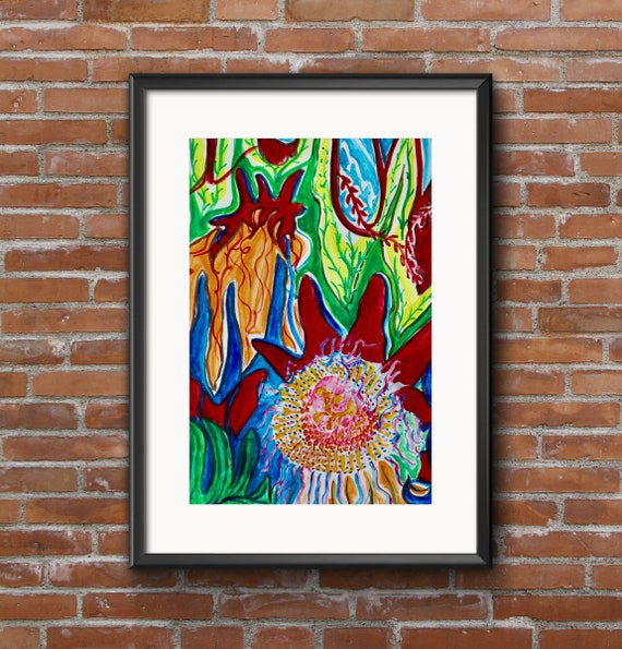 Passion flower, Flora and Fauna, Dominica, Caribbean, Island