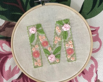 Prima Vera Monogram Embroidery Pattern with Full Alphabet