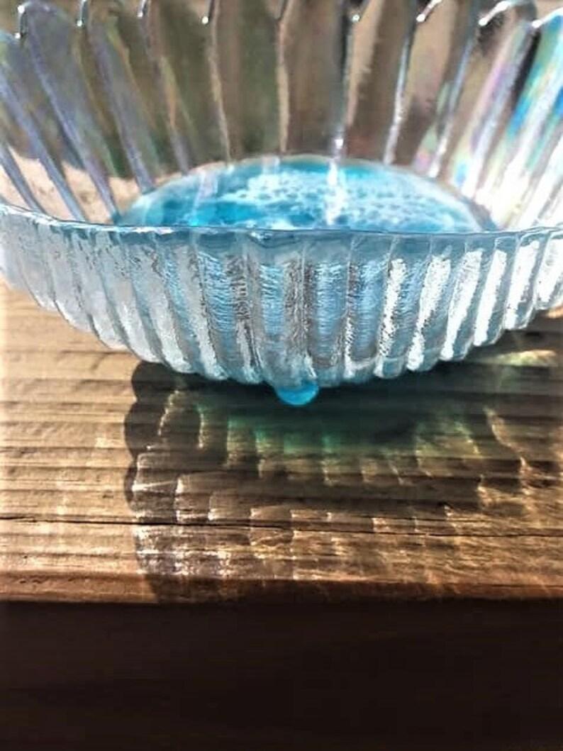 Seashell Ring Dish Seashell Jewelry Dish Iridescent Sea Shell Beach Table Decor,Beach House Decor Scalloped Shell Dish Glass Shell Bowl