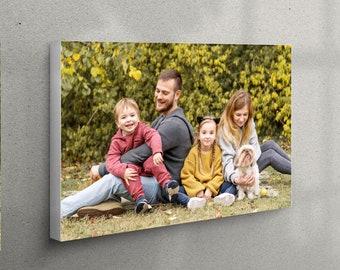 Custom Canvas Prints, Photo To Canvas, Family Photos, Wedding Picture, Custom Canvas, Canvas Wall Art, Photography Print, Photo Canvas