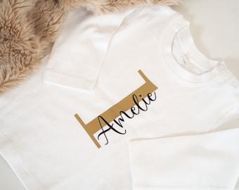 Baby Shirt | Shirt | Personalized | ORGANIC Birthday Shirt | 1st Birthday | First