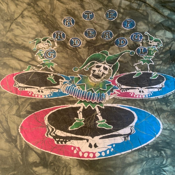 Vintage 1994 Grateful Dead Jester T-shirt