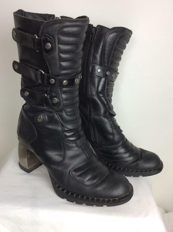New Rock Vintage Boots