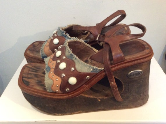 El Dantes Platform Sandals Vintage