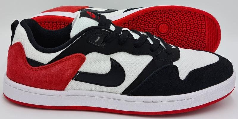 Nike SB Alleyoop Deadstock Suede Trainers CJ0882-102 White/Red uk10/us11/eu45