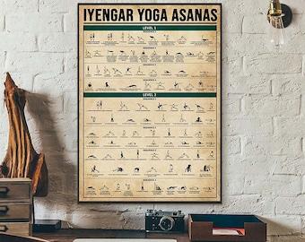 Yoga Postures Etsy
