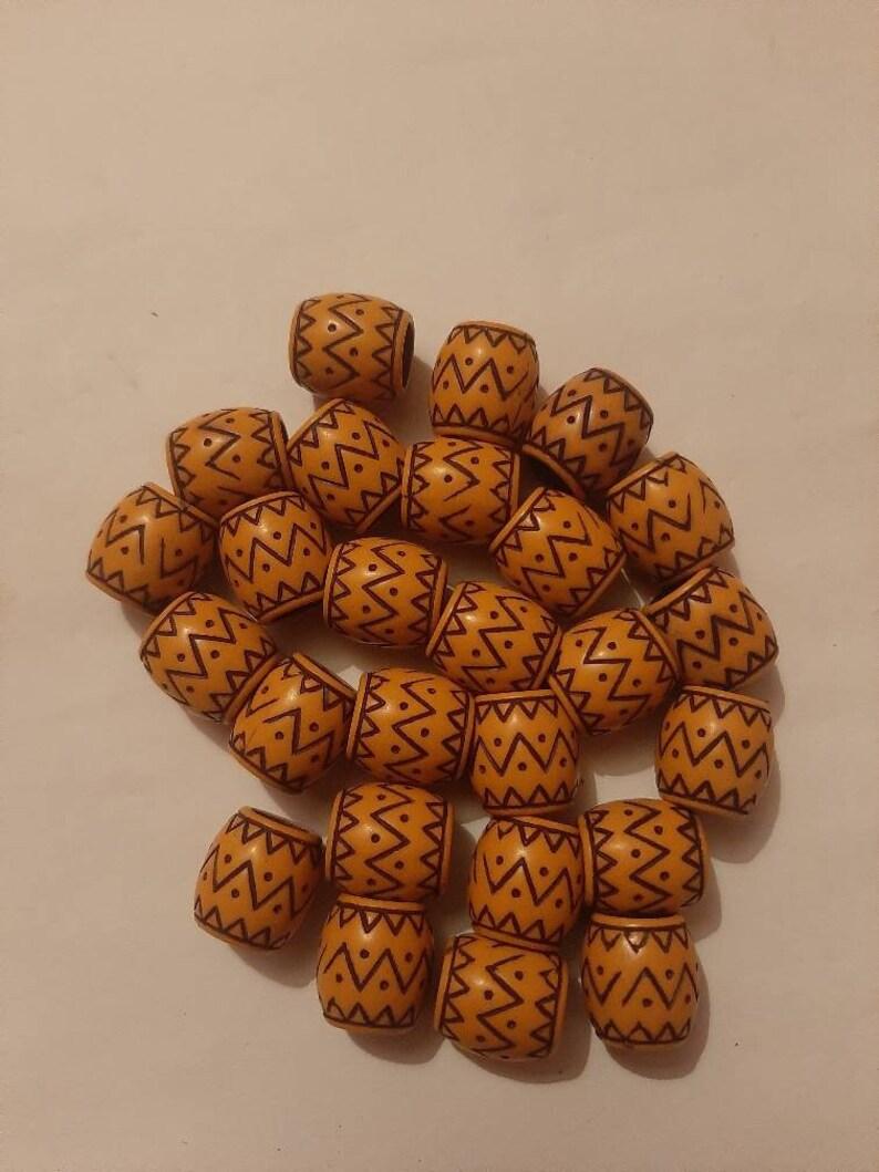 26 jamaica beads for braids