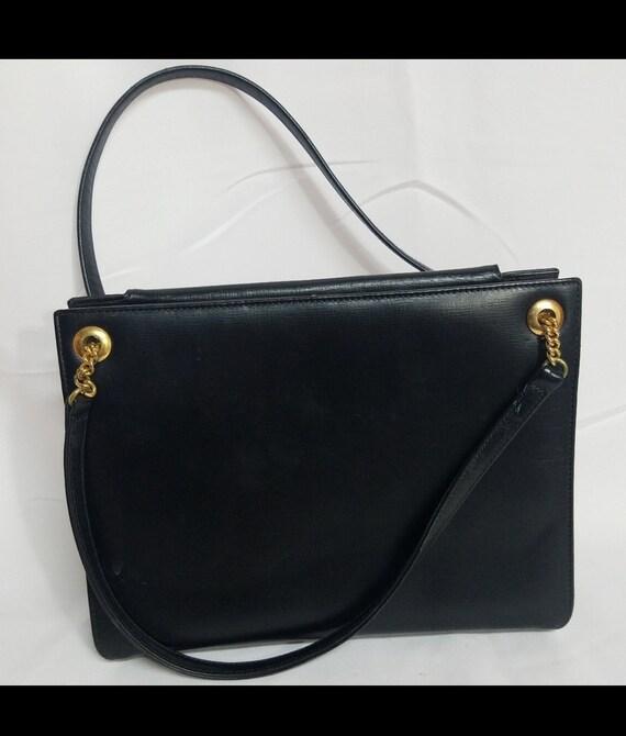 Vintage Coblentz Paris 1950's style leather handba