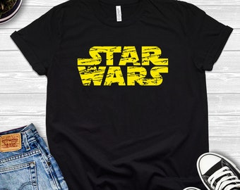 may the force be with you vintage star wars bleached tee acid washed tee skywalker. vader vtg 90s distressed star wars graphic t-shirt