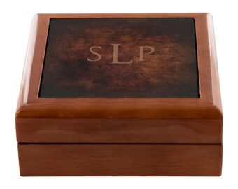 Brother gift from sister Keepsake box Handmade jewelry box Large wooden box Grandpa birthday gift Storage box Christmas husband gift