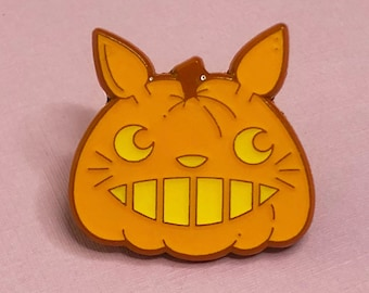 Totoro Pumpkin Enamel Pin