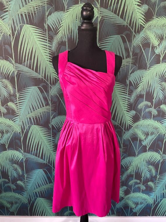 Hot Pink Calvin Klein Party Dress