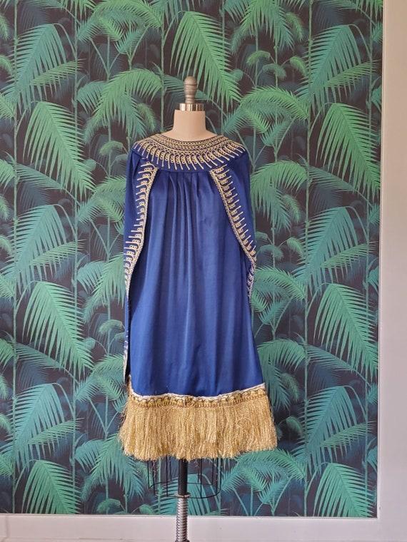 Vintage Cape Style Dress