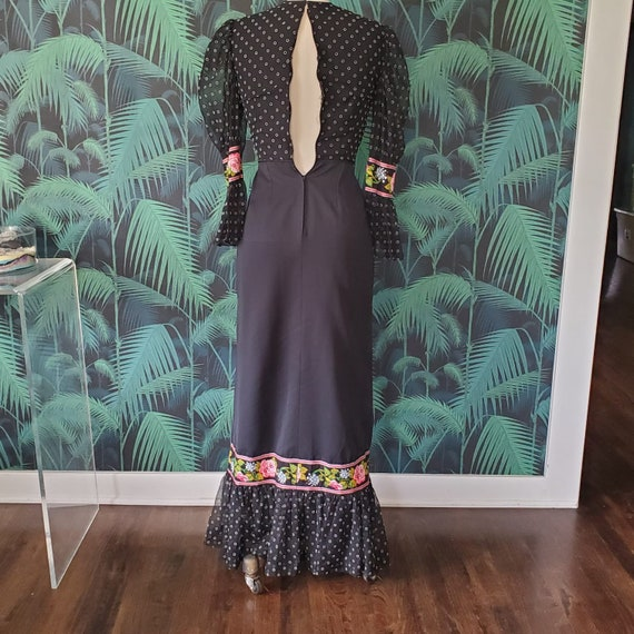 Victorian Inspired 1970s Maxidress - image 2