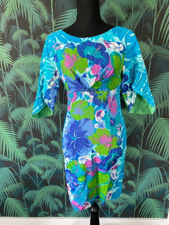 1960's Hawaiian Dress