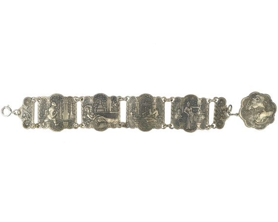 Vintage Moroccan Souvenir Bracelet Arabian Nights