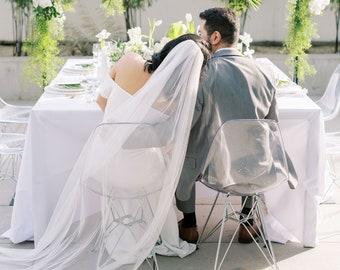 Ultra Soft Wedding Veil, English Net, Cathedral, Single Layer, Bridal Veil