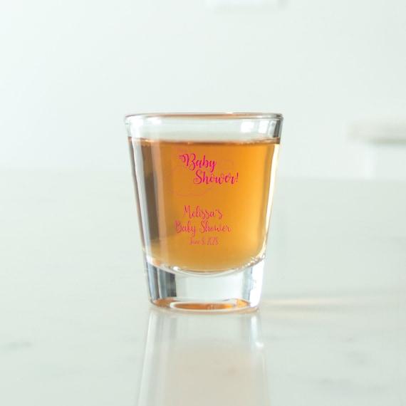 Unique Personalized Votive Shot Glass Personalized Shot Glass Monogram Wedding Favors Wedding Favors 24 pcs DGN228 Gift Ideas