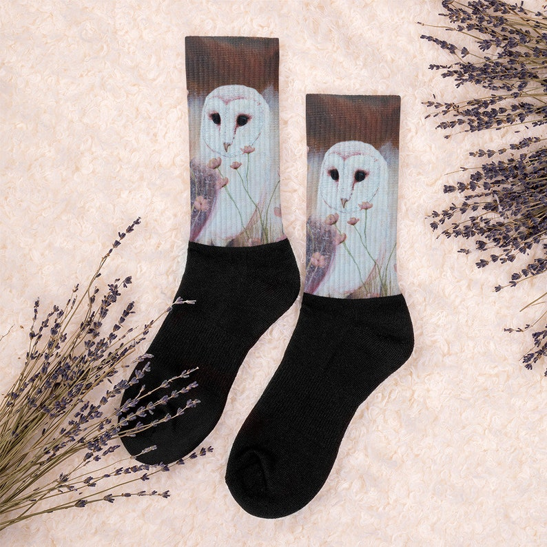 Funky Socks Cute Animal Socks Owl Socks Cool Socks Colorful Socks Gag Gifts Crazy Socks Fun Socks Socks for Women Funny Socks