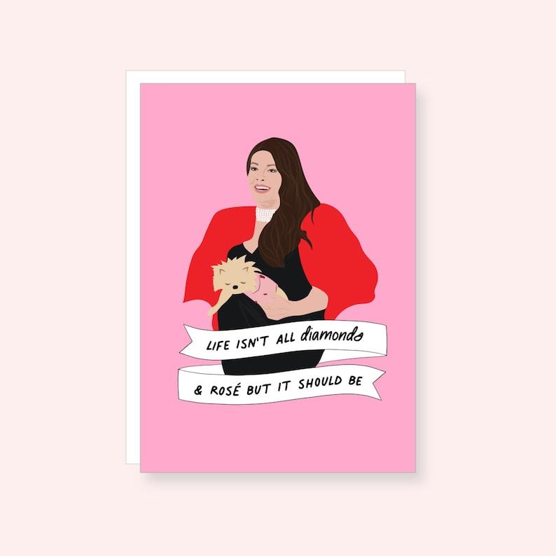 Lisa Vanderpump Card Real Housewives Card Real Housewives of image 0