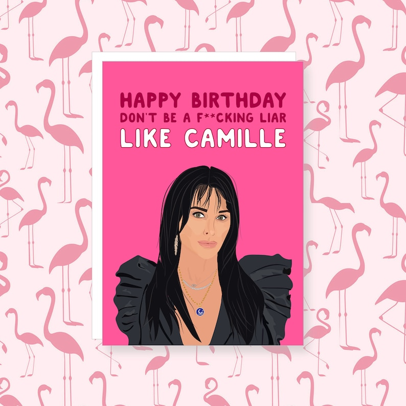 Kyle Richards Birthday Card Real Housewives Card Real image 0