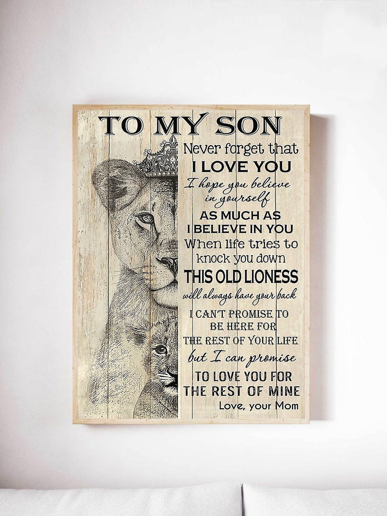 Download To My Son Never Forget That I Love You svg png Digital   Etsy