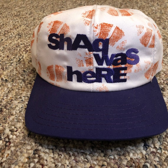 Shaquille O'Neal Shaq Was Here Vintage Snapback Ha