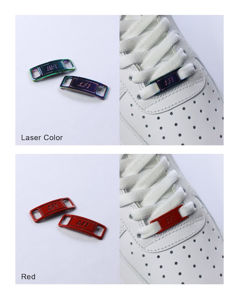 Air Force 1 Lace Tags Lace Locks AF1 image 5