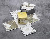 Explosionsbox zur Hochzeit, handgemacht, Hochzeitsgeschenk, Stampin' Up!