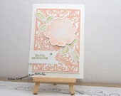 Wedding Day Card, Congratulations Card, Handmade Greeting Card, Stampin' UP!