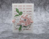 Handmade Mother's Day Greeting Card, Mother's Day Card, Congratulations Card - Stampin'Up!