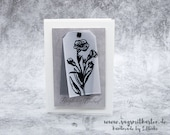 Handmade Mourning Card, Condolence Card - Stampin'Up!