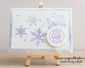 Christmas Card, New Year's Stampin' Up!