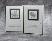 Handmade Mourning Card, Condolence Card, Condolence Card - Stampin'Up!