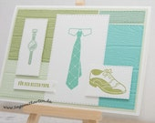 Father's Day Greeting Card, Dad's Day, Men's Day, Handmade - Stampin'Up!