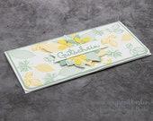 Packaging for voucher or concert cards, voucher card, voucher envelope with magnetic cap, voucher case, money gift
