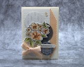 Greeting card, wedding, handmade greeting card, Stampin' UP!