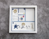 Personalizable picture frame for birth, gift for birth, boy, girl