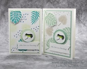 Handmade Birthday Greeting Card, Congratulations Card for Frog Lover, Birthday Card, - Stampin'Up!