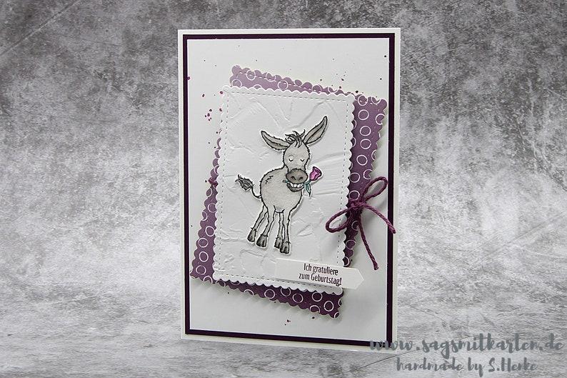 Handmade Birthday Card Congratulations Card Kids Birthday  image 0