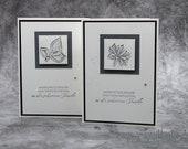 Handmade Mourning Card, Condolence Card, Condolence Card - Stampin'Up!