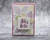 Handmade Birthday Greeting Card, Birthday Card, Congratulations Card - Stampin'Up!